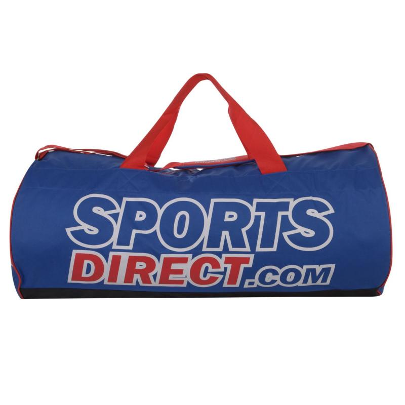 SportsDirect Holdall Blue/Red/White
