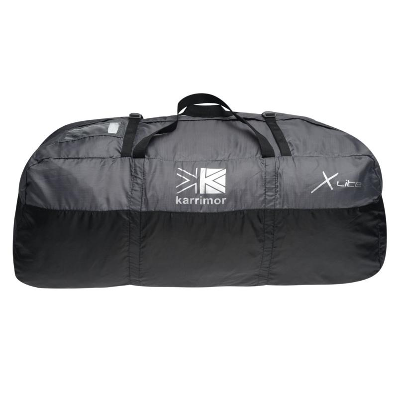 Karrimor Packable Duffle Bag Black/Charcoal