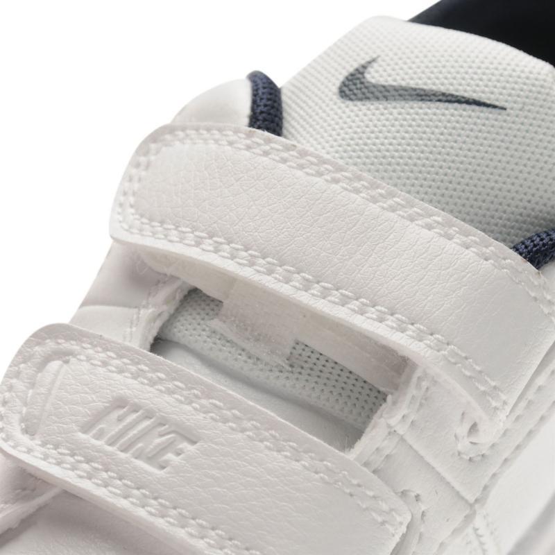 d057c4dff00 Boty Nike Pico 4 V Infant Boys Trainers White Navy