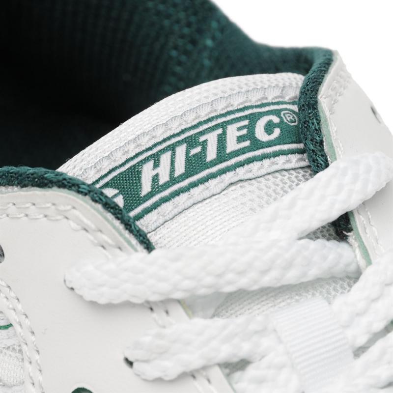 Hi Tec Squash Shoes White/Green