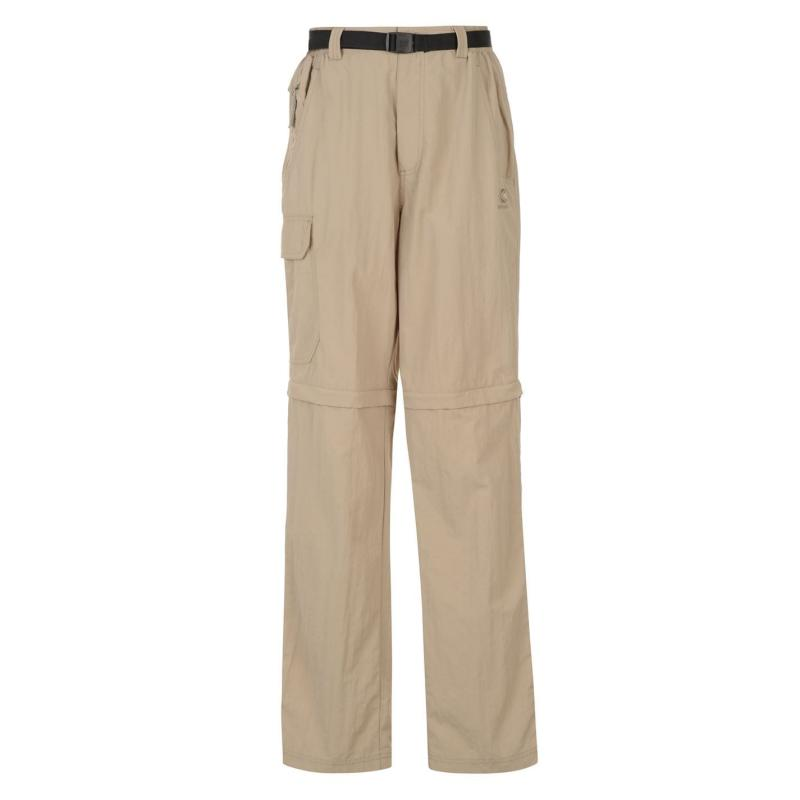 Karrimor Aspen Zip Off Trousers Mens Beige