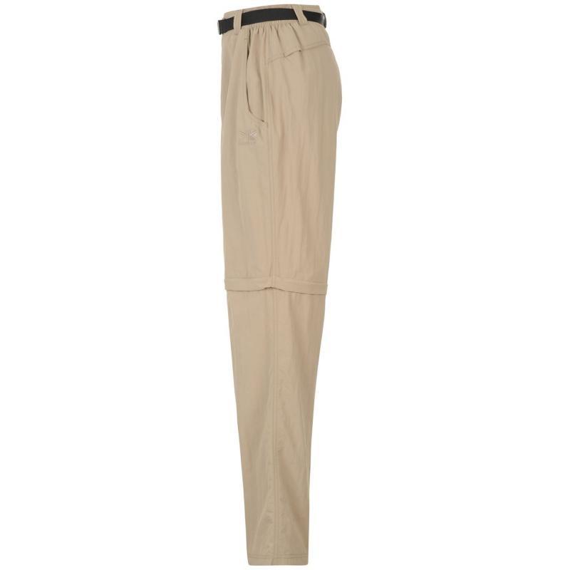 Karrimor Aspen Zip Off Trousers Mens Beige