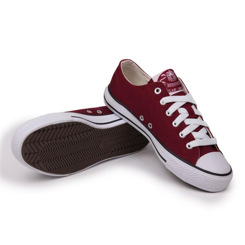 Boty Dunlop Low Junior Trainers White