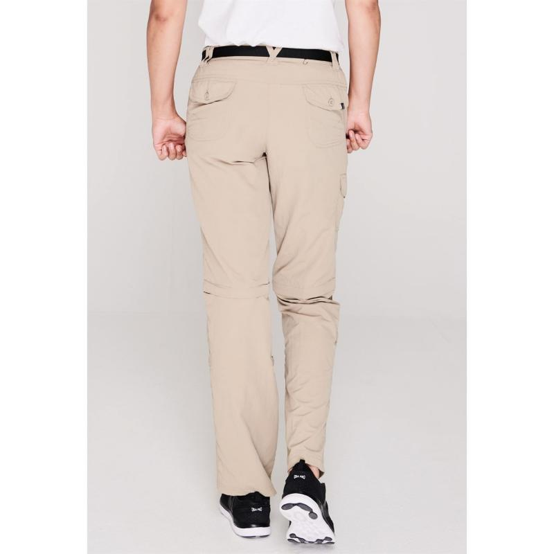 Karrimor Aspen Zip Off Trousers Ladies Beige