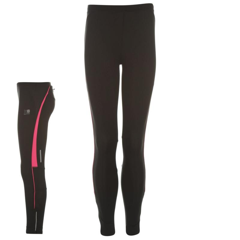 Karrimor Running Tights Girls Black/Pink