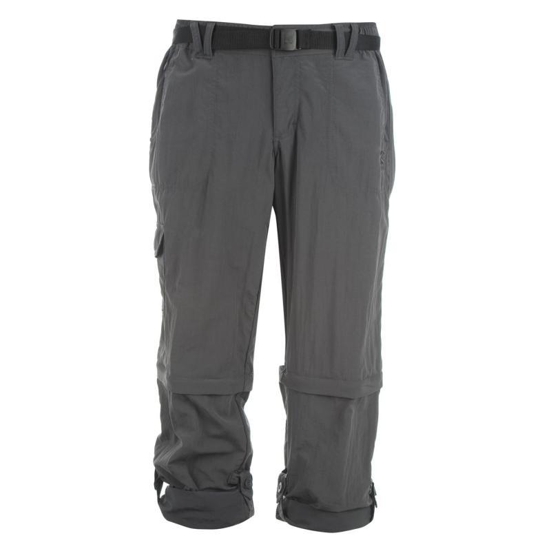 Karrimor Aspen Zip Off Trousers Ladies Charcoal