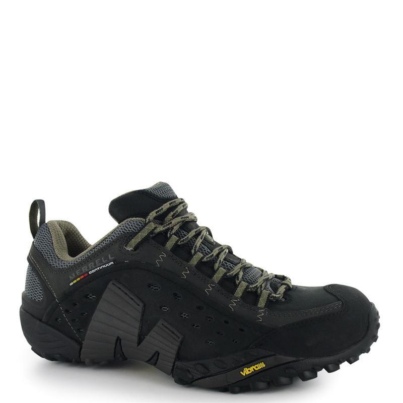 Merrell Intercept Mens Walking Shoes Moth Brown