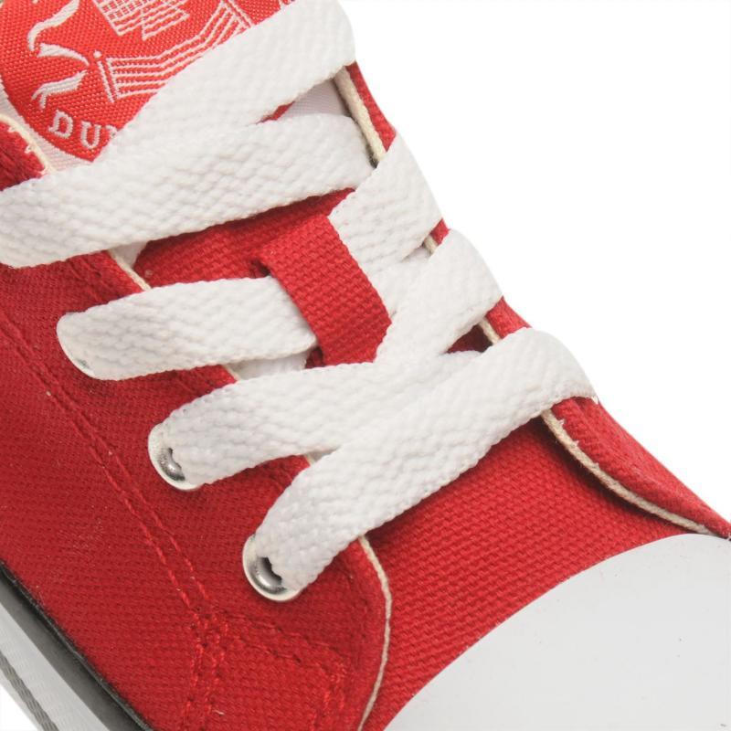Dunlop Canvas Low Infants Trainers Grey
