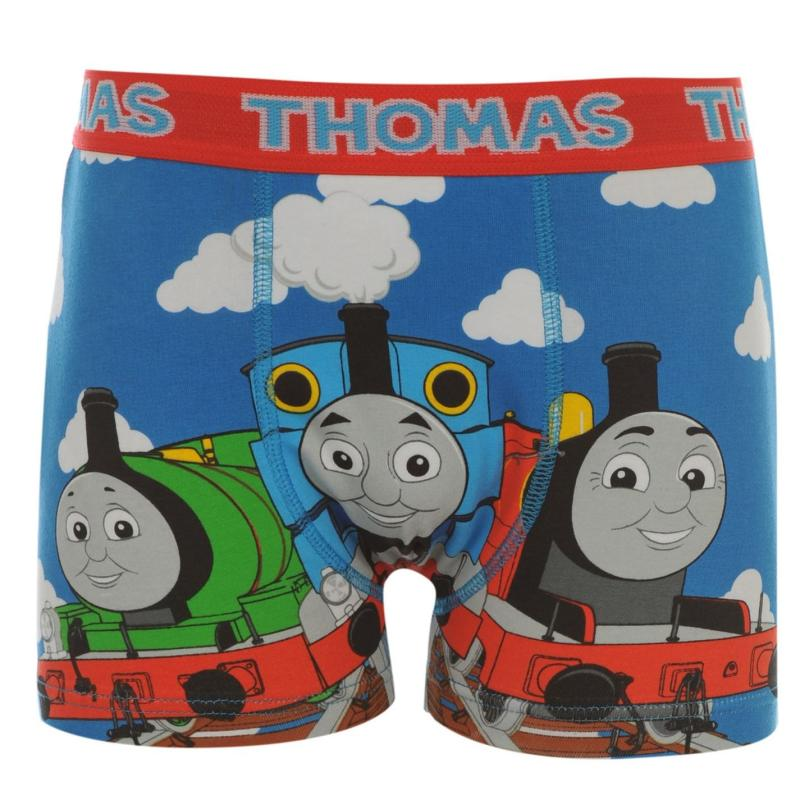 Spodní prádlo Character Thomas Single Boxer Infants Blue