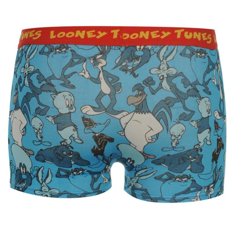 Spodní prádlo Warner Brothers Tunes Single Boxer Shorts Infant Blue