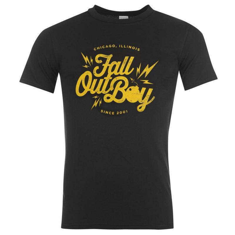 Tričko Official Fall Out Boy T Shirt Head Dress