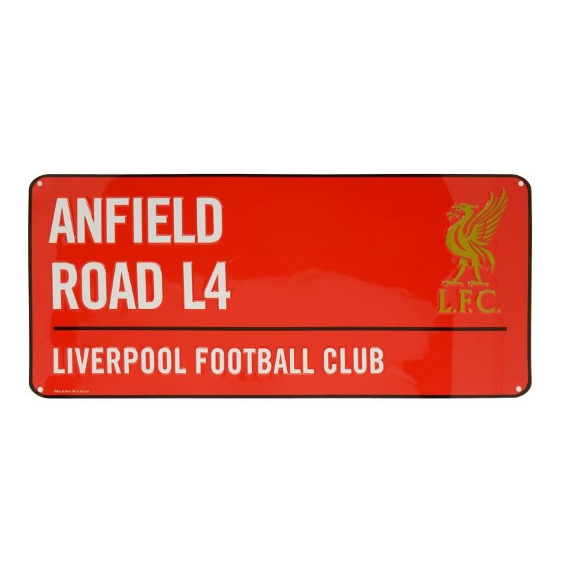 Team 3D Street Sign Liverpool