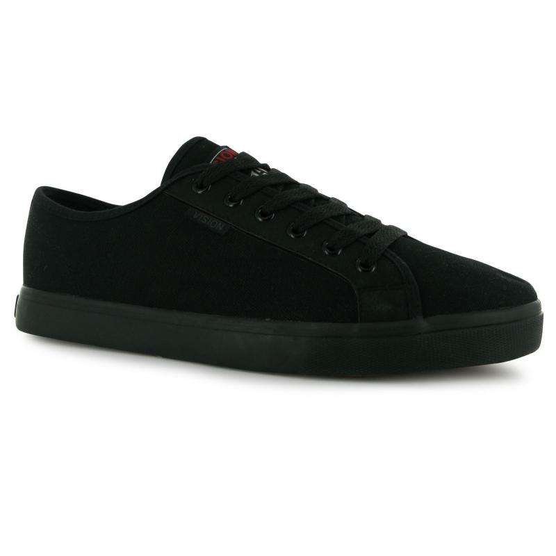 Boty Vision Frontal Canvas Shoes Mens Black/Black