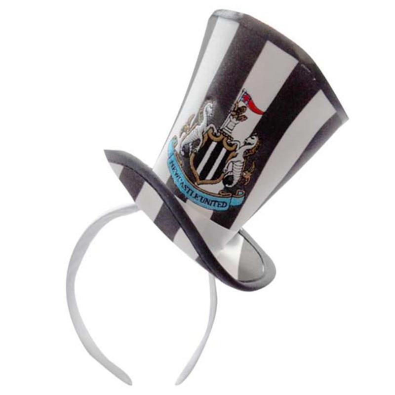 NUFC Mini Topper Hat Black/White