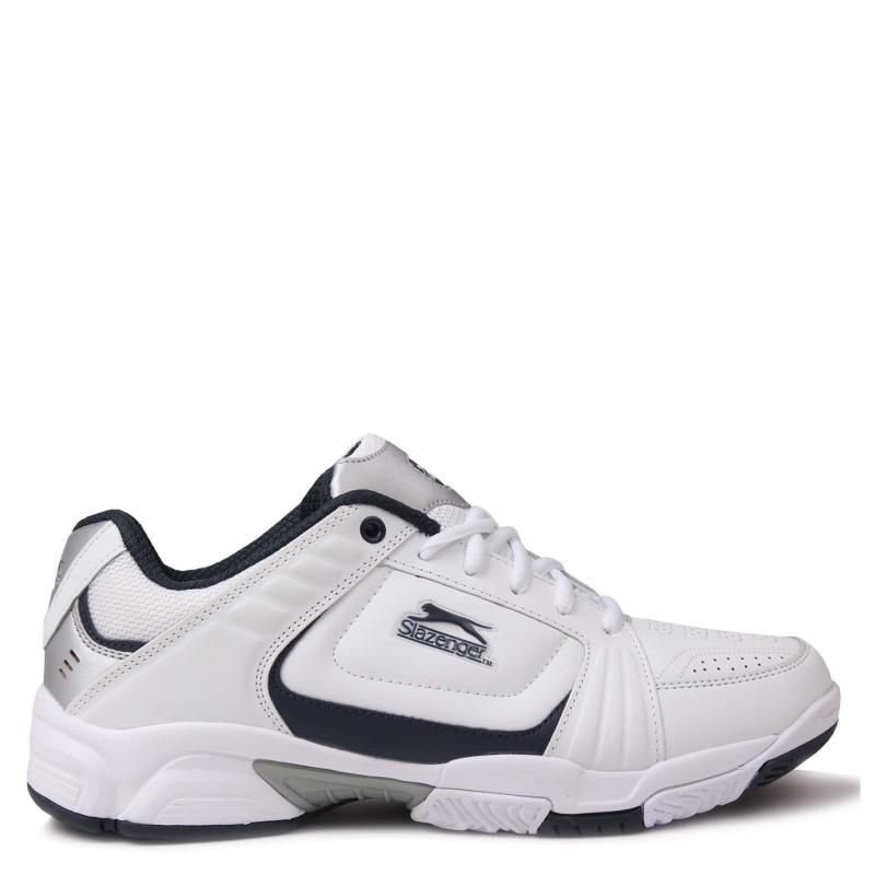 Slazenger Mens Tennis Shoes White/Navy