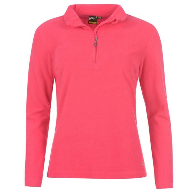 Mikina Gelert Atlantis Micro Fleece Ladies Coral Pink
