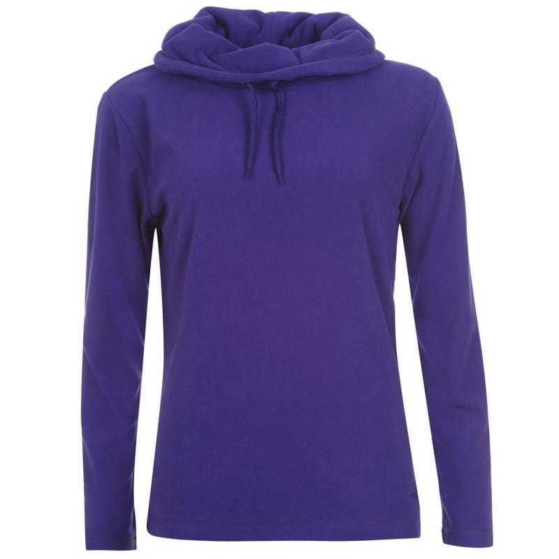 Gelert Cowl Neck Fleece Ladies Purple