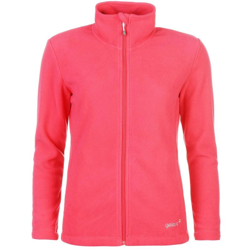 Gelert Ottawa Fleece Jacket Ladies Coral Pink