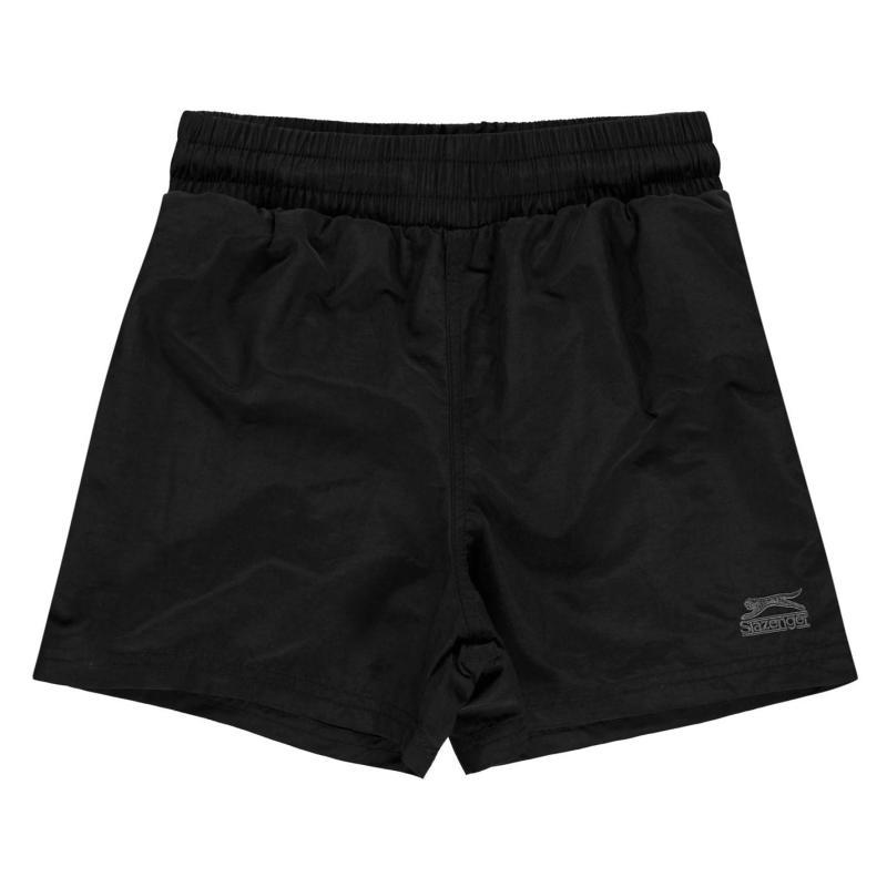 Plavky Slazenger Swim Shorts Junior Black