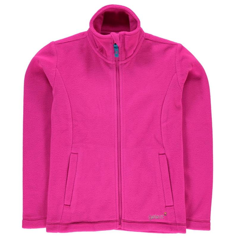 Gelert Fleece Jacket Junior Girls Bright Pink