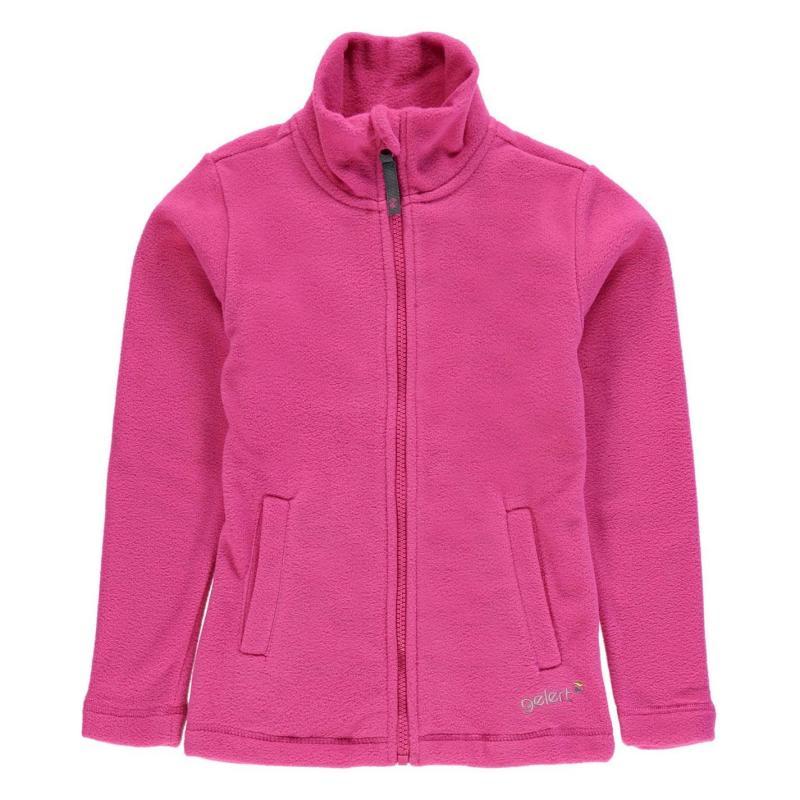 Gelert Ottawa Fleece Jacket Infants Bright Pink