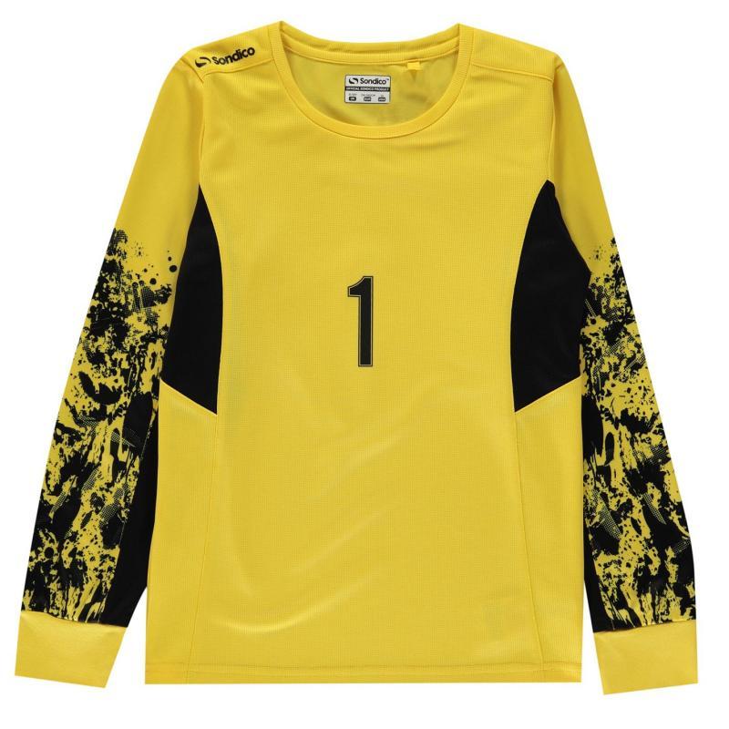 Tílko Sondico Core Goalkeeper Shirt Juniors Yellow
