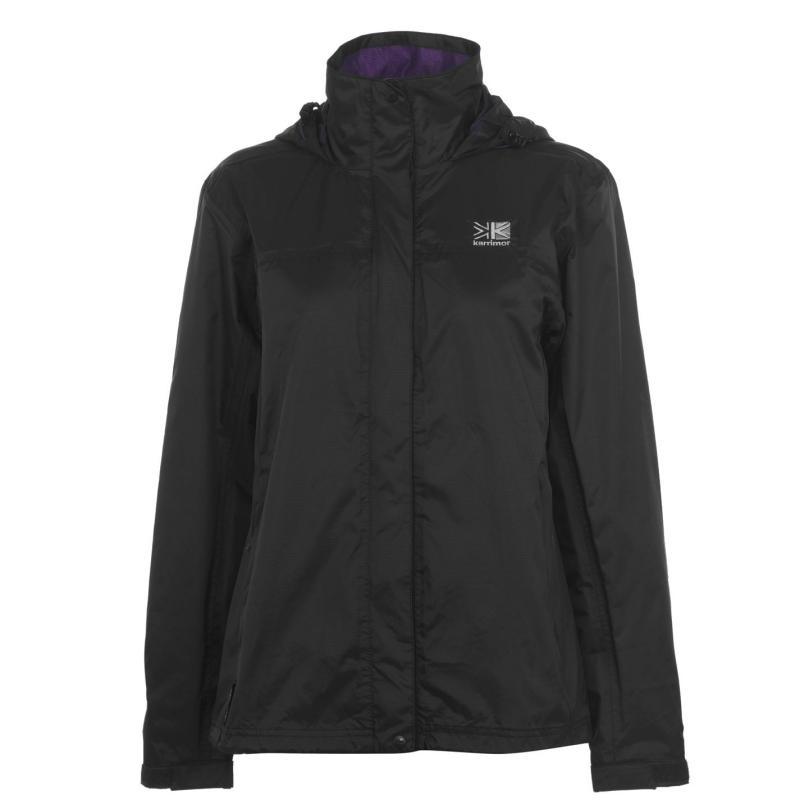 Karrimor Sierra Weathertite Jacket Ladies Black/R Purple