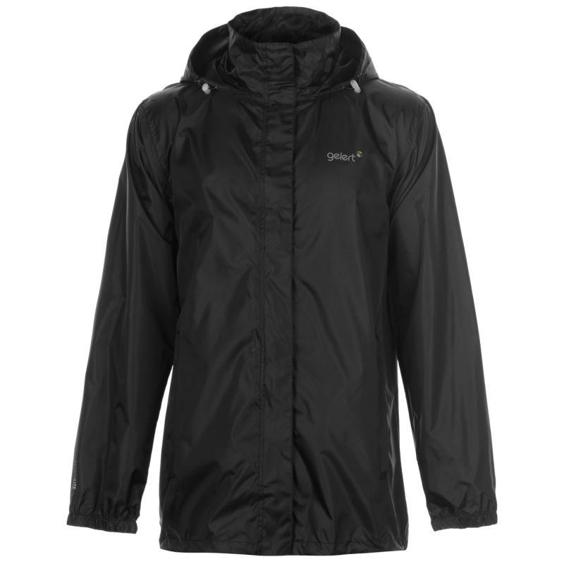 Gelert Packaway Mens Waterproof Jacket Black