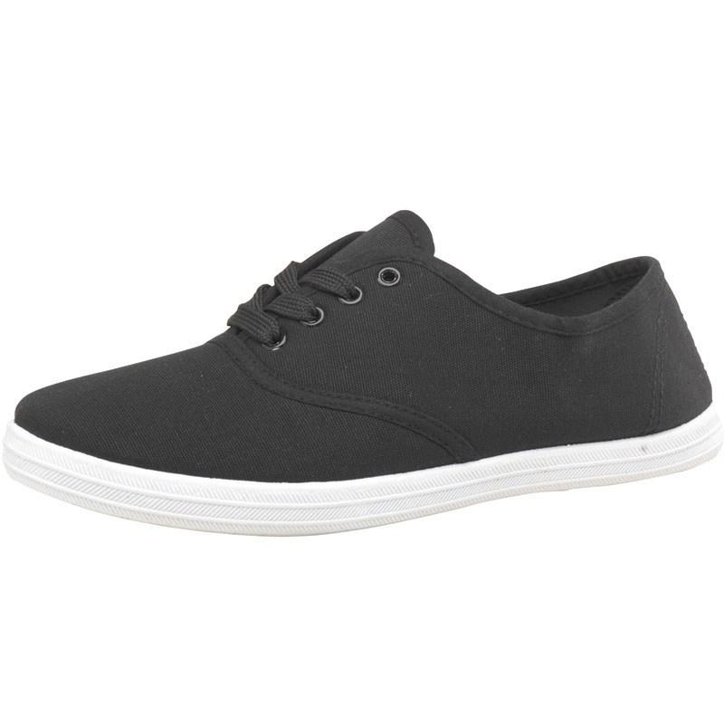 Boty Board Angels Womens Canvas Pumps Black