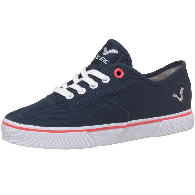 Voi Jeans Womens Nirvana Canvas Shoes Navy