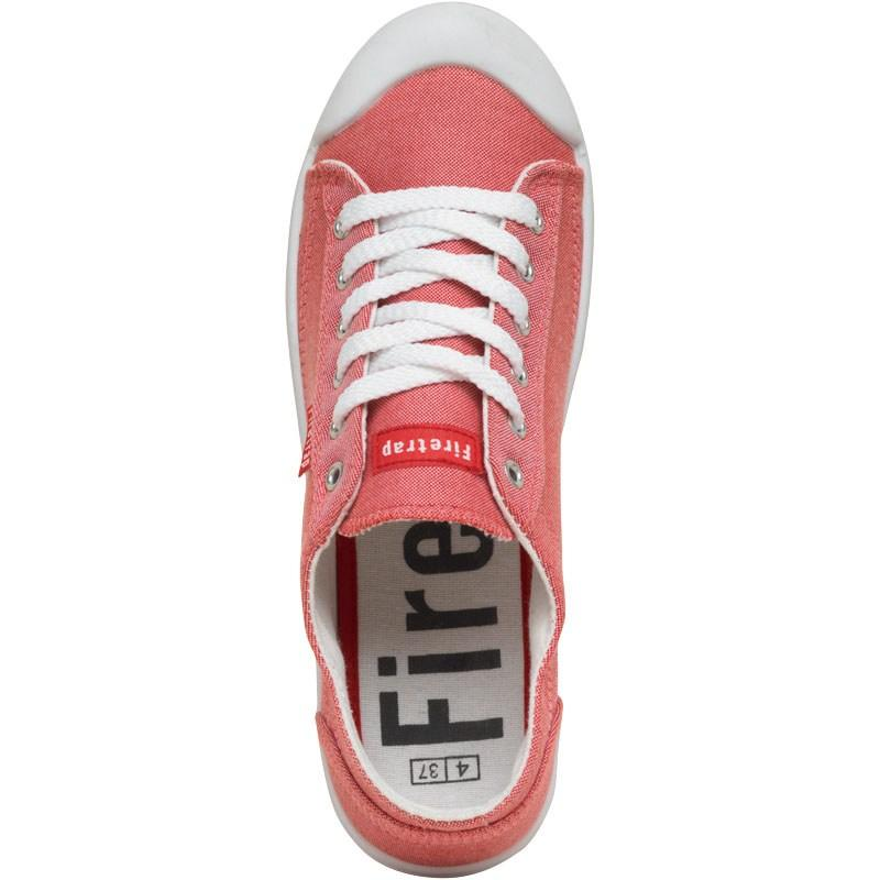 Boty Firetrap Womens Cutie Pumps Coral Chambray