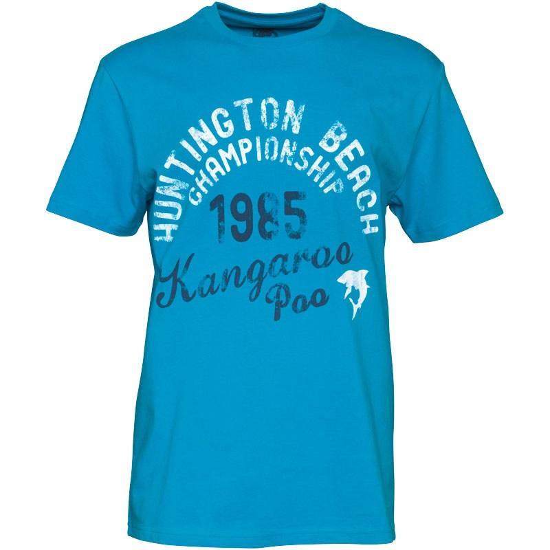 Tričko Kangaroo Poo Mens T-Shirt Blue