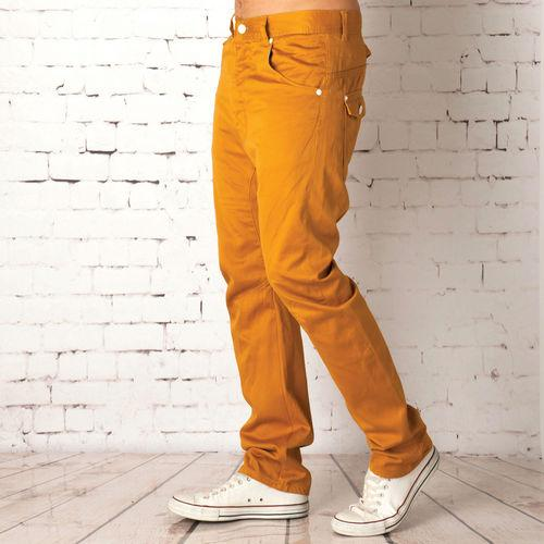 Kalhoty Voi Jeans Mens Morwell Twill Chinos Yellow
