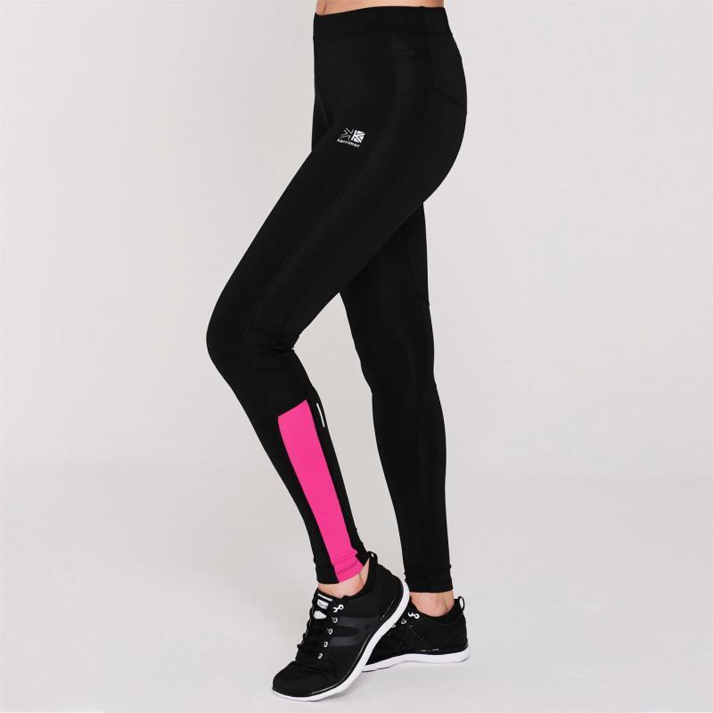 Karrimor Running Tights Ladies Black/Pink