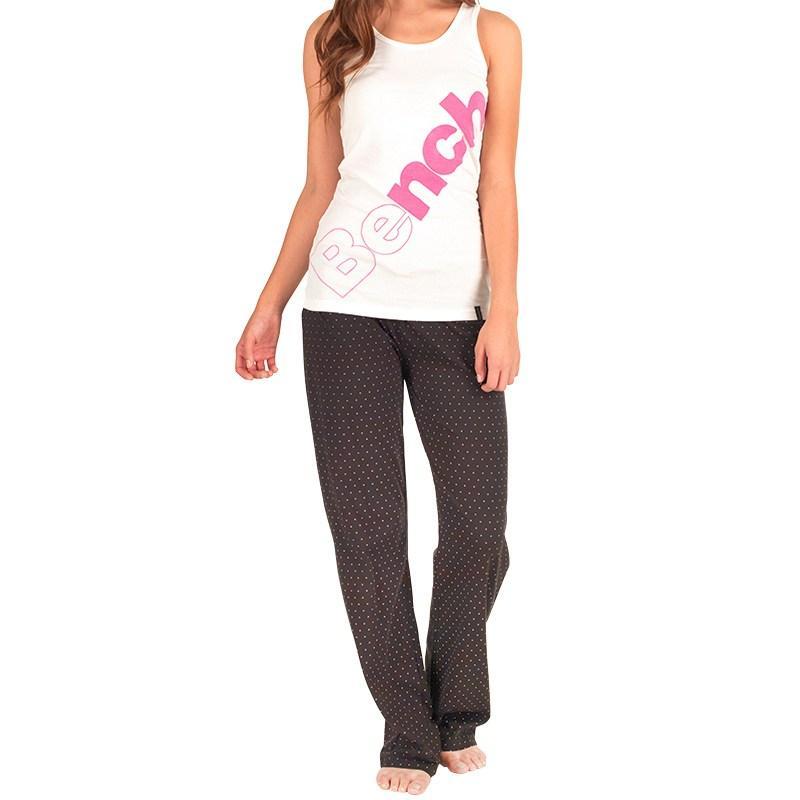 Tílko Bench Womens Vest White/Pink