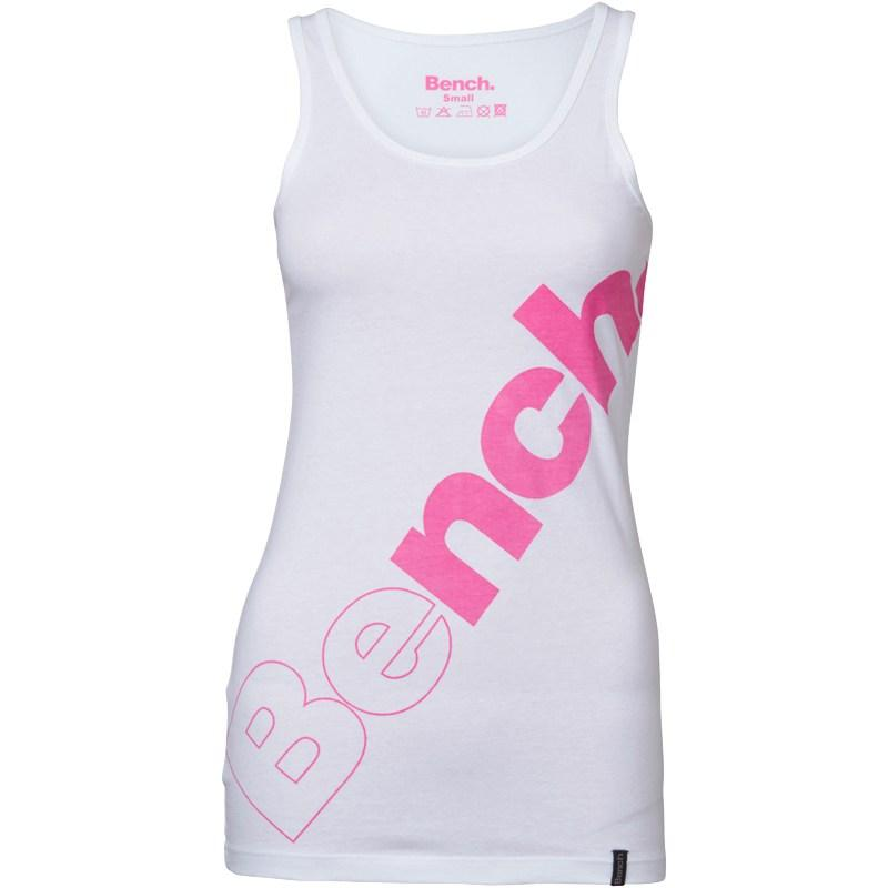 Tílko Bench Womens Vest White/Pink