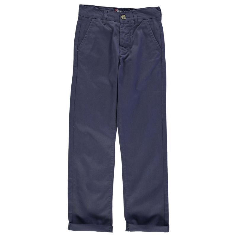Kalhoty Kangol Chino Juniors Navy