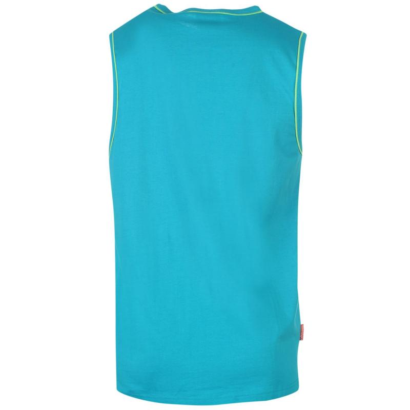 Tílko Slazenger Sleeveless T Shirt Mens Blue