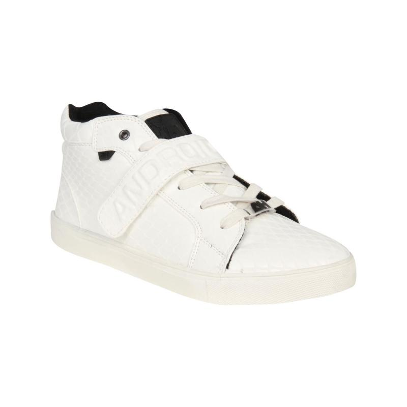 Android Homme Propulsion Midi Trainers White/White