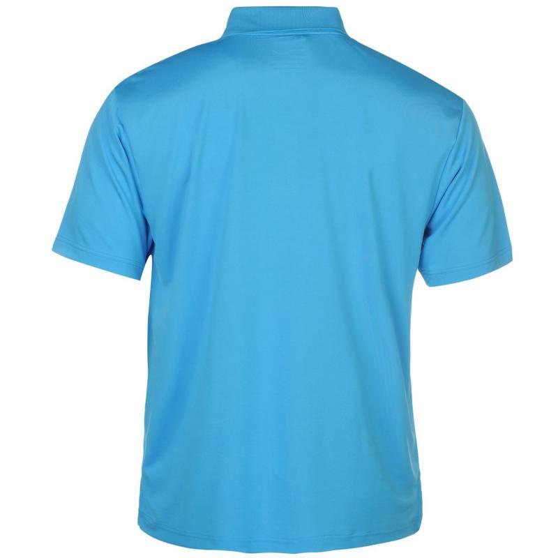 Dunlop Plain Polo Shirt Mens Blue