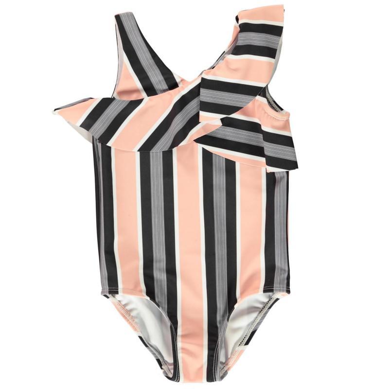 Firetrap Swimsuit Infant Girls Rose Stripe