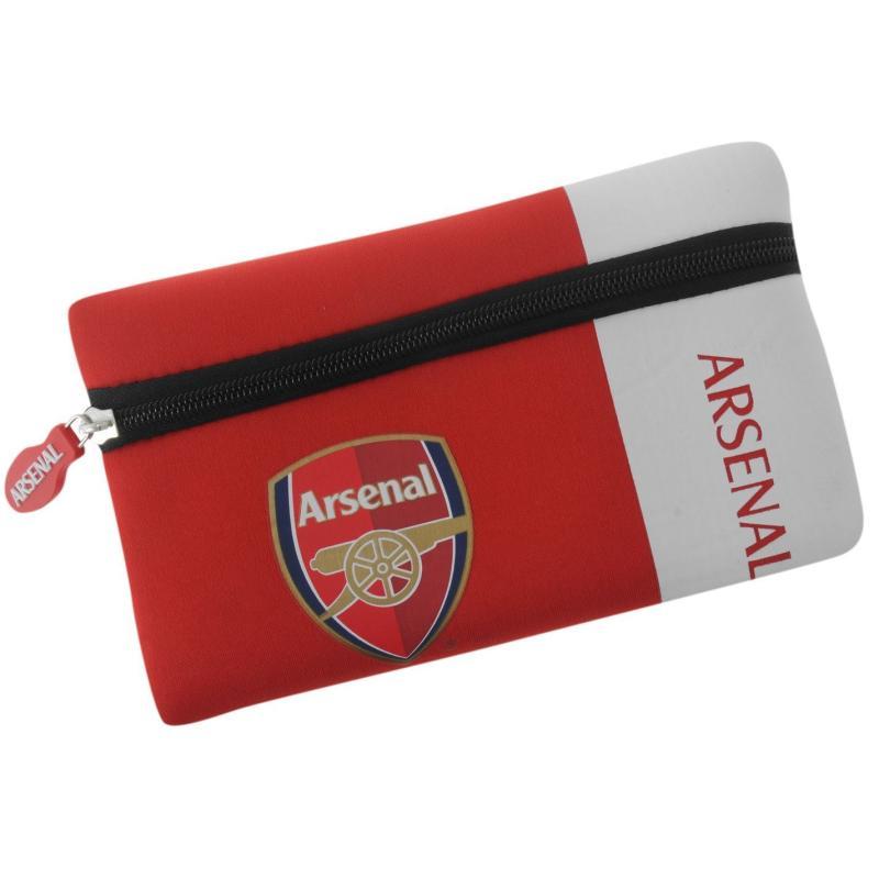 Team Neoprene Pencil Case Arsenal