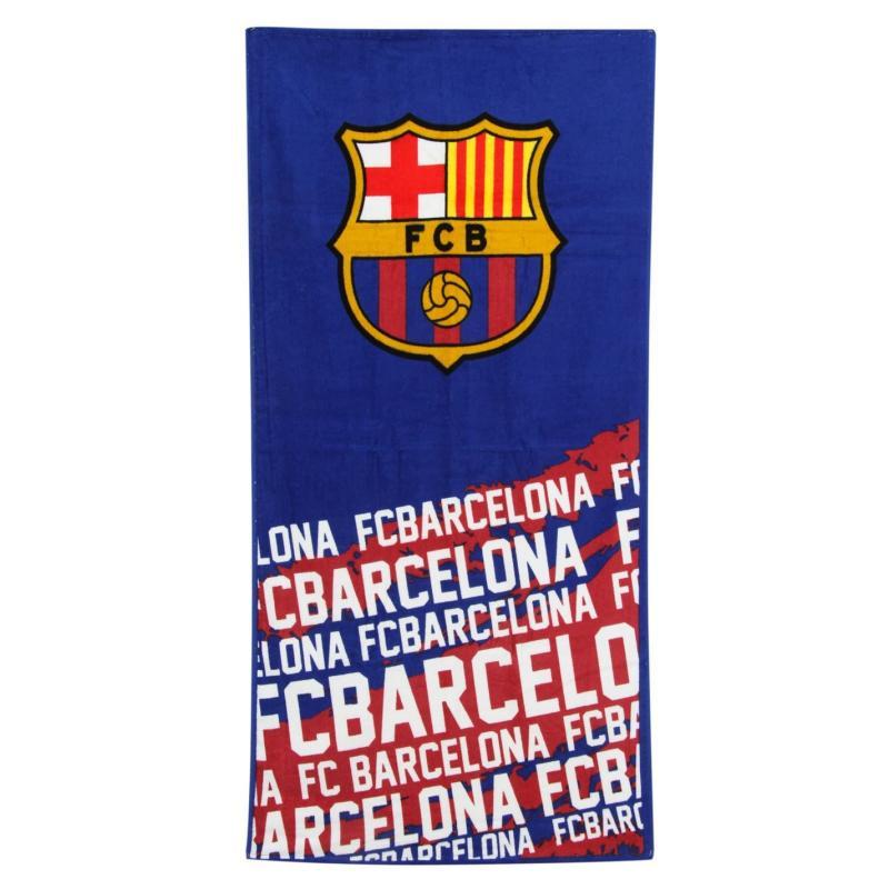 Team Velour Towel Barcelona
