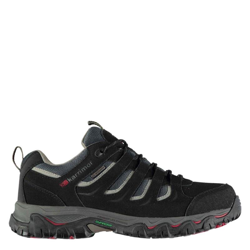 Karrimor Mount Low Mens Walking Shoes Black