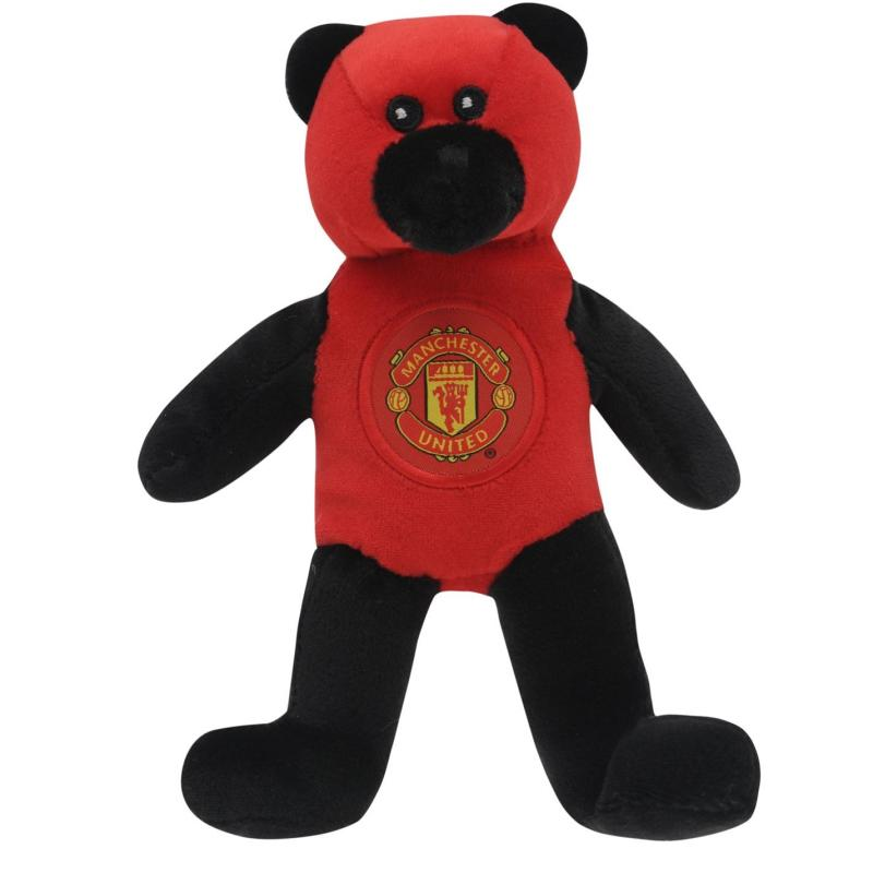 Team Football Beanie Bear Man Utd