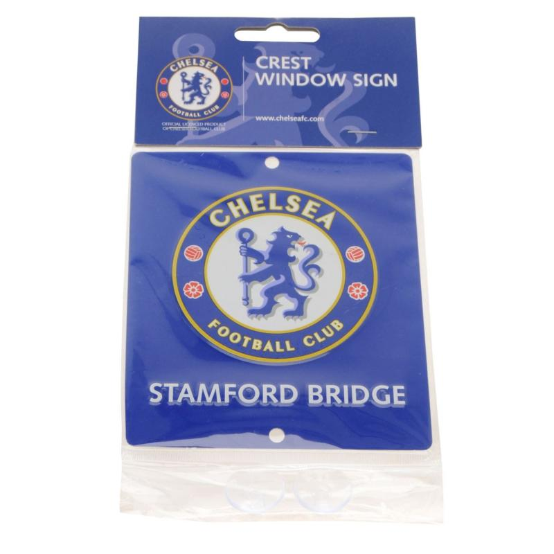 Team 3D Window Sign Chelsea