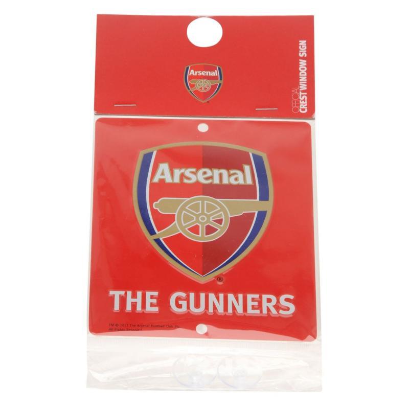 Team 3D Window Sign Arsenal