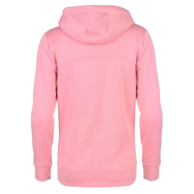 Mikina s kapucí LA Gear Over The Head Hoody Ladies Pink