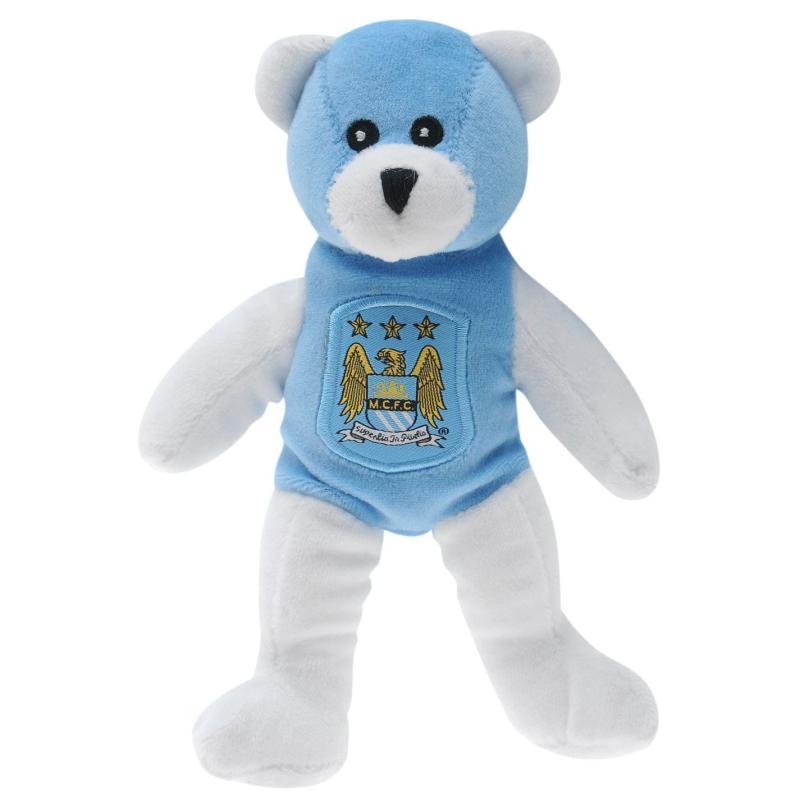 Team Football Beanie Bear Man City