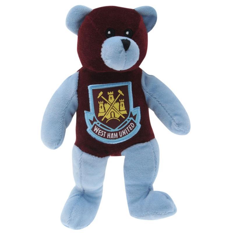 Team Football Beanie Bear West Ham